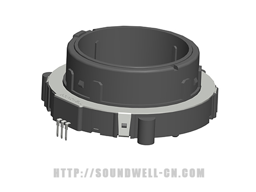 EC65 hollow shaft incremental encoder