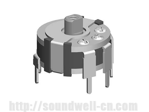 RC1003 thumb-wheel Rotary potentiometer