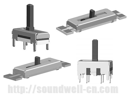10MM Travel Slide potentiometer