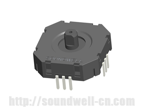 RJ20 Translational motion rocker potentiometer