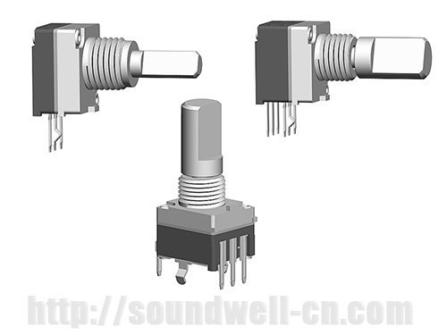 EC09 metal shaft Incremental encoder