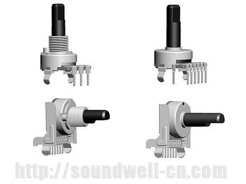 RB16 insulated shaft Rotary potentiometer