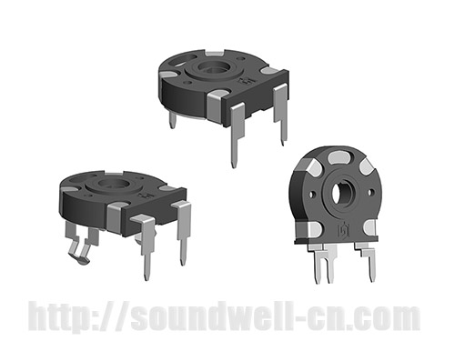 PT15 hollow shaft Rotary potentiometer
