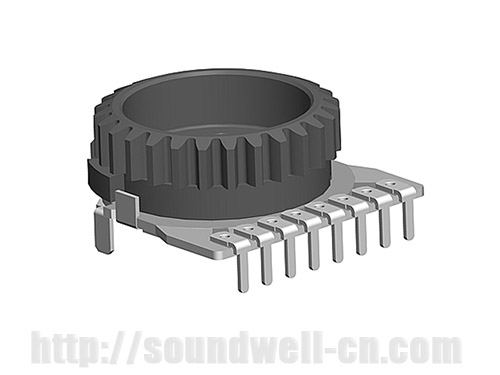 RC15 thumb-wheel Rotary potentiometer