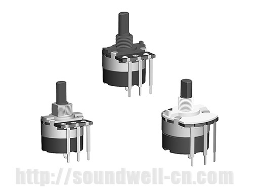 RD24 insulated shaft Rotary potentiometer
