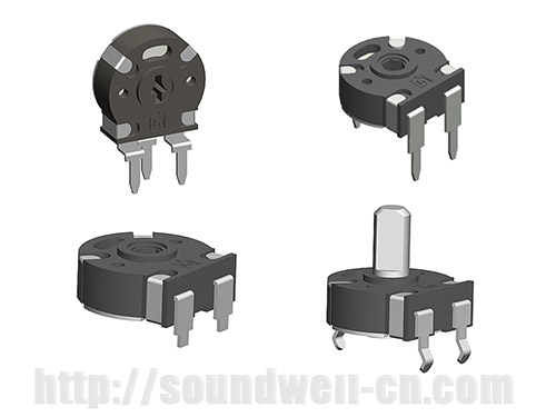 PT10 hollow shaft Rotary potentiometer