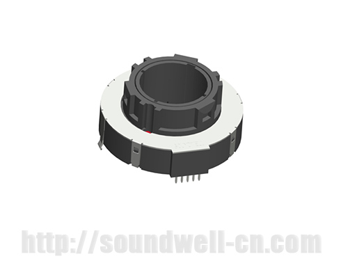 QA48 thumb-wheel Rotary potentiometer