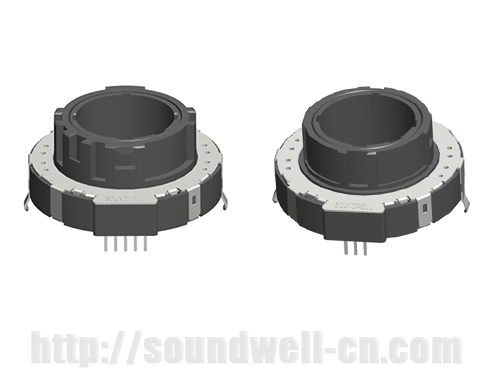 QA39 thumb-wheel Rotary potentiometer